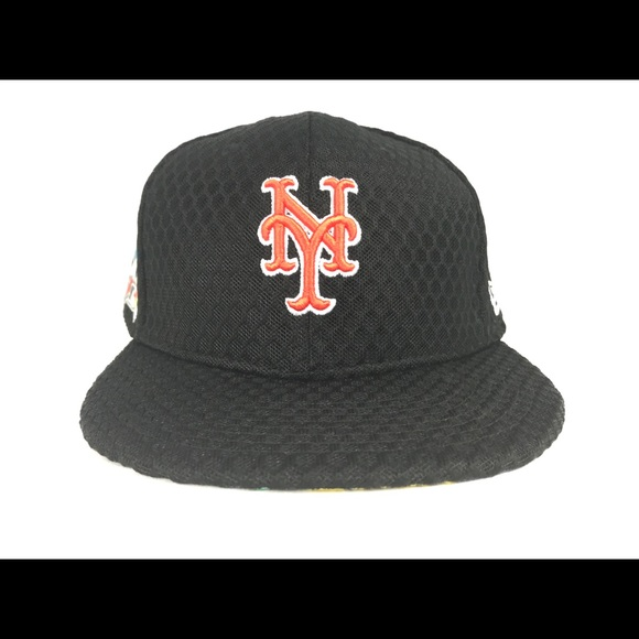 info for 7662f eac12 NY Mets New Era Home Run Derby Fitted Hat 7 3 4